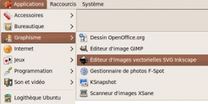Inkscape installe